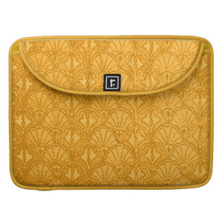 Vintage Shells Yellow Macbook Pro Flap Sleeve Sleeve For MacBook Pro
