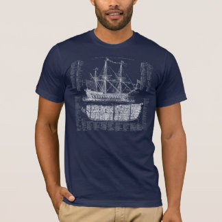 Vintage Ship T-Shirt
