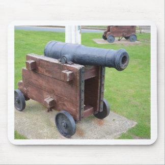 Vintage Ship's Cannon Mouse Pad