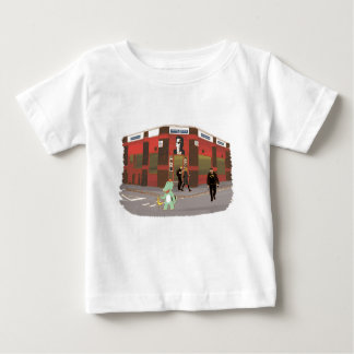 Vintage shop, cute animals illustration baby T-Shirt