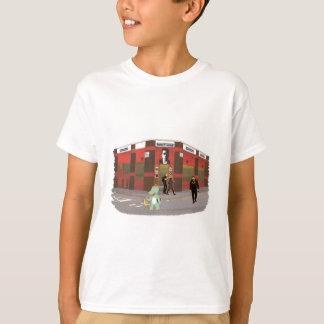 Vintage shop, cute animals illustration T-Shirt