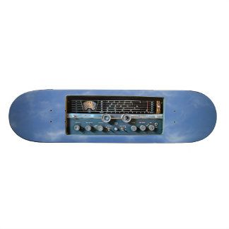 Vintage Short Wave Radio Skateboard