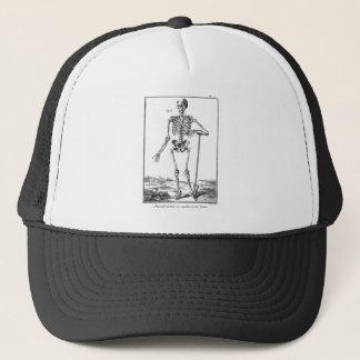 Vintage Shovel Farming Human Old Skeleton Anatomy Trucker Hat