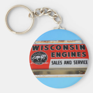 Vintage Sign Route 66 Kingman Wisconsin Engines Keychains