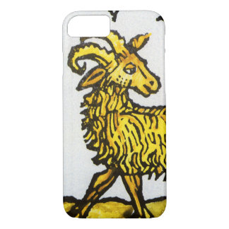 Vintage Signs of the Zodiac, Aries the Ram iPhone 7 Case