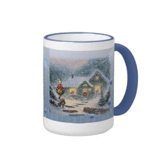Vintage Silent Night Mug