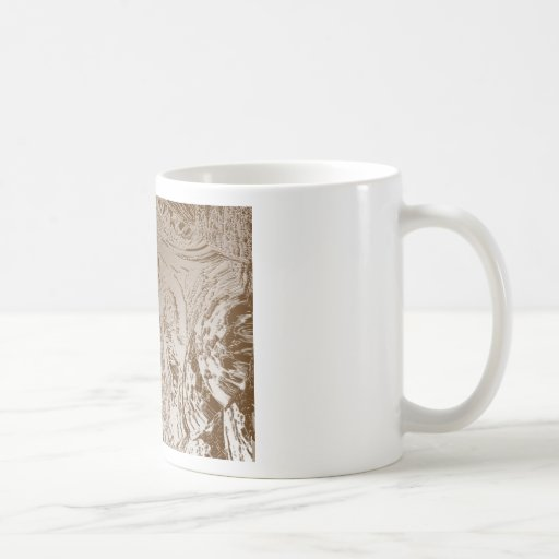 Vintage Silver Graphic - Cave Style Art Patterns Mugs