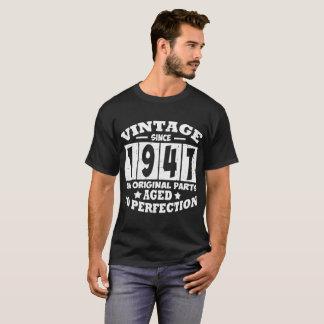 VINTAGE SINCE 1947 ALL ORIGINAL PARTS T-Shirt
