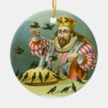 Vintage Sing a Song of Sixpence Nursery Rhyme Ornament
