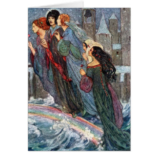 Vintage - Sisters Cross the Bridge With Me, Card