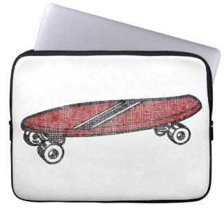 Vintage Skateboard Laptop Computer Sleeve