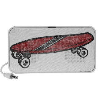 Vintage Skateboard iPhone Speaker