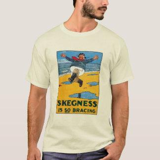 Vintage Skegness Ad - Skegness is so Bracing - Man T-Shirt