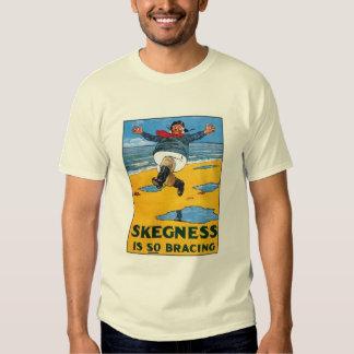 Vintage Skegness Ad - Skegness is so Bracing - Man Tee Shirts