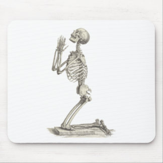 Vintage Skeleton Mouse Mat