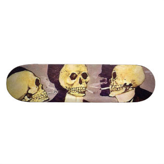Vintage Skeletons Skateboard