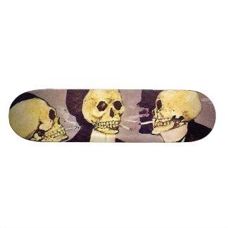 Vintage Skeletons Custom Skateboard