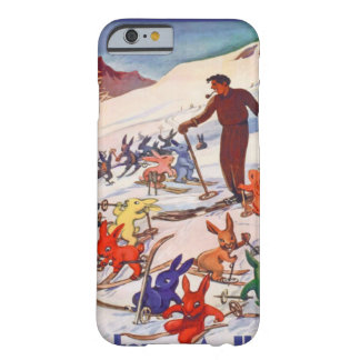 Vintage Ski , Arlberg, St Anton Barely There iPhone 6 Case