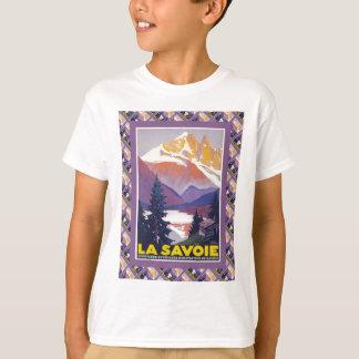 Vintage Ski Poster,  France, La Savoie, T-Shirt