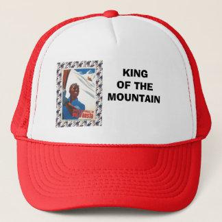 Vintage Ski Poster,  Italy, Val d'Aosta Trucker Hat