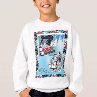 Vintage Ski Poster, Ski Colorado Sweatshirt