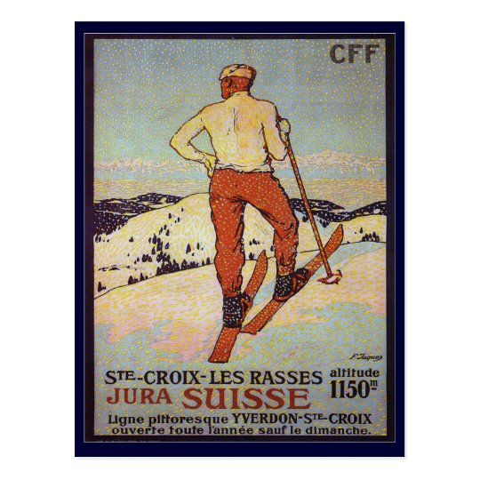 Vintage Ski, St Croix les rasses, Jura Suisse