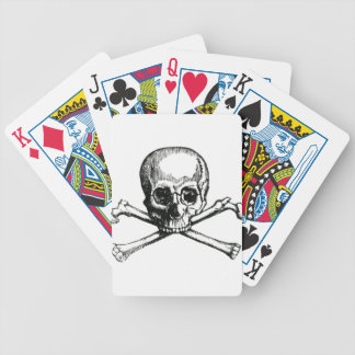 Vintage Skull and Crossbones Bicycle Playing Cards