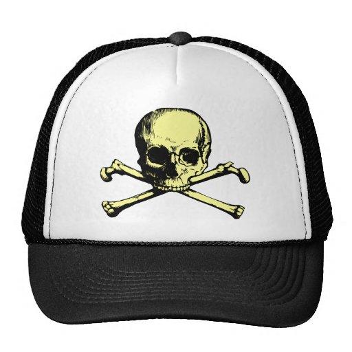 Vintage Skull and Crossbones Hats