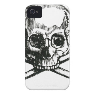 Vintage Skull and Crossbones iPhone 4 Covers
