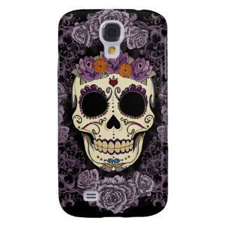 Vintage Skull and Roses Galaxy S4 Galaxy S4 Case