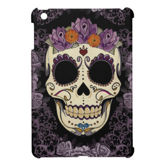 Vintage Skull and Roses iPad Mini Case