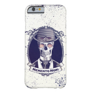 Vintage Skull Art Memento Mori Barely There iPhone 6 Case