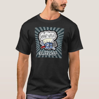 vintage skull chef T-Shirt