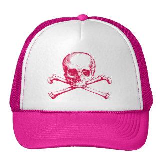 Vintage Skull & Crossbones Trucker Hat