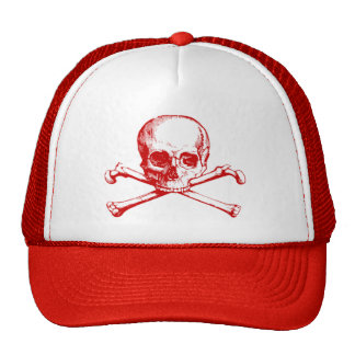 Vintage Skull & Crossbones Hat