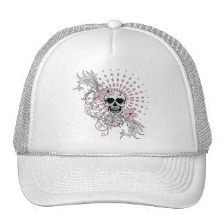 Vintage Skull Mesh Hats