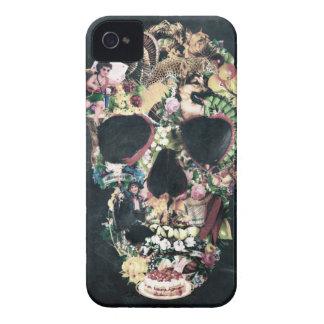 Vintage Skull iPhone 4 Case-Mate Case