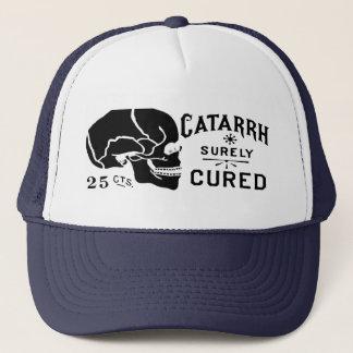 Vintage Skull Label Hat