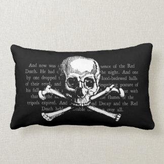 Vintage Skull Lumbar Cushion