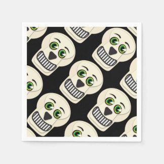 Vintage Skull Napkins Disposable Napkins