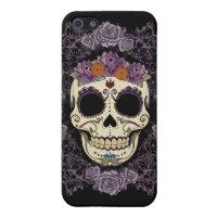Vintage Skull & Roses 5C Case