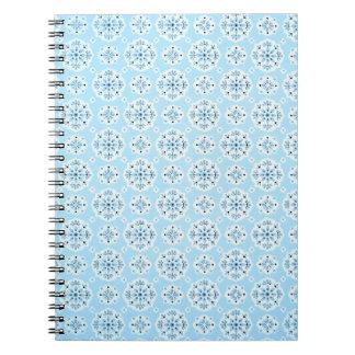 Vintage Sky Blue Notebook
