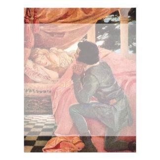 Vintage Sleeping Beauty by Jessie Willcox Smith 21.5 Cm X 28 Cm Flyer