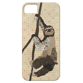 Vintage Sloth iPhone Case iPhone 5 Cover