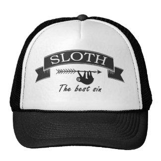 Vintage Sloth Sin Hat