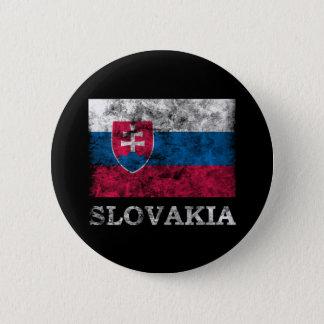 Vintage Slovakia 6 Cm Round Badge