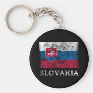 Vintage Slovakia Key Ring
