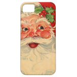 Vintage Smiling Santa Christmas Holiday Gift Item iPhone 5 Case