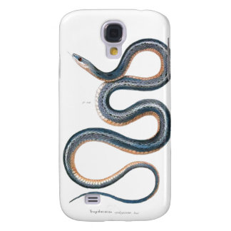 Vintage snake drawing victorian art nouveau snake galaxy s4 case