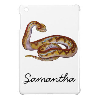 Vintage Snake Illustration iPad Mini Covers